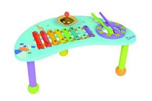 Boikido Bkd80911009 Tavolo Con Strumenti A Percussione E Bacchette In Legno 0