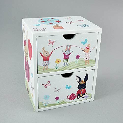 Bunny Rabbit 2 Cassetto Portagioie 0