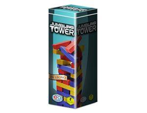 Editrice Giochi Giochi Classici Jumbling Tower A Colori In Legno 6036102 0