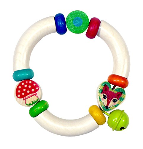 Hess 11012 Bambino Giocattolo Rattle Forest Animals In Legno 0