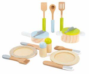 Legler Set Stoviglie E Pentole Cucina Per Bambini 15pz 0