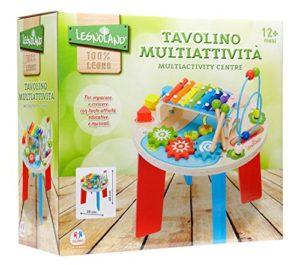 Legnoland 37111 Tavolino Multiattivit In Legno 0