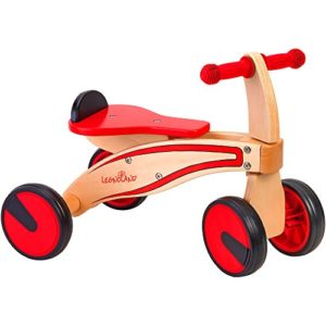Legnoland 37914 Triciclo In Legno 4 Ruote 0 1
