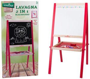 Legnoland Lavagna In Legno H Con Gessi E Cancellino 89 Cm 35479 0