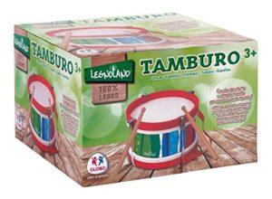 Legnoland Tamburo In Legno Con Tracolla E 2 Battenti 22x14 Cm 0