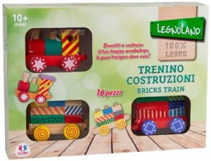 Legnoland Trenino Trainabile Glo781 0