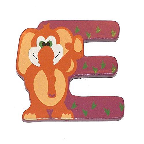 Lettera Decorativa Per Nomi Bambini Nella Stanzetta Con Animali Lettera E 0