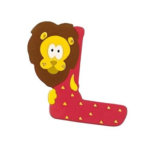Lettera Decorativa Per Nomi Bambini Nella Stanzetta Con Animali Lettera L 0