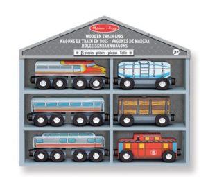 Melissa Doug 10641 Vagoni Di Treno In Legno 0