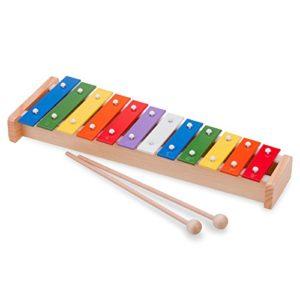New Classic Toys Percussione Xilofono A 8 Toni Multicolore 0