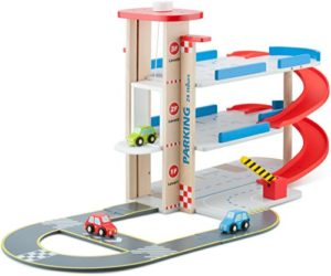 New Classic Toys Parcheggio Garage Con Pista 0
