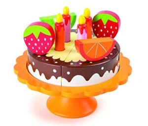 Small Foot 10167 Torta Di Compleanno In Legno 0