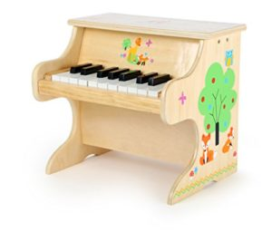 Small Foot Pianoforte Per Bambini In Legno Con Applicazioni Di Animali 10724 0