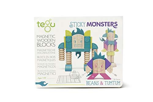 Tegu Btm Msm 605t Blocco Magnetico In Legno Beans And Tumtum 0