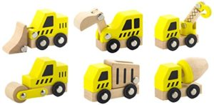 Viga Toys 50541 Set Di Veicoli Da Cantiere 6 Pezzi 0