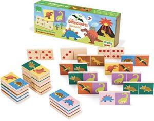 Vilac Vilac6013 Dinosaur Dominoes 0