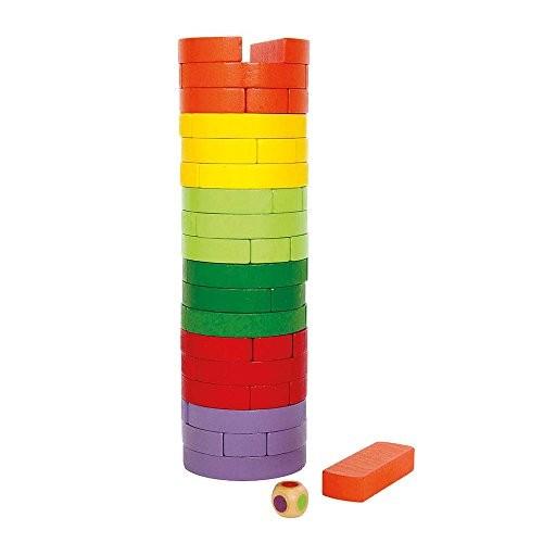 Small Foot Company Torre Traballante Colorata 0