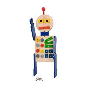 Buitenspeel Hammer It Robottino In Legno Da Costruire 0