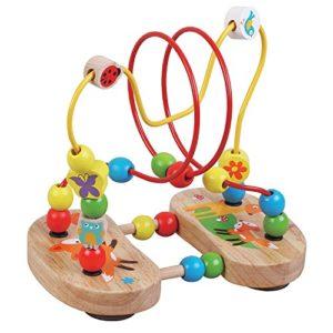 Giochi In Legno Bead Maze Bambini Fox Design By Jumini 0