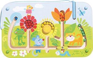 Haba 301472 Gioco Magnetico Labirinto Di Fiori In Legno Per Bambini Dai 2 Anni In Su 0
