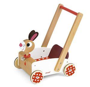 Janod Carretto Di Legno Per Bambini Crazy Rabbit J05997 0