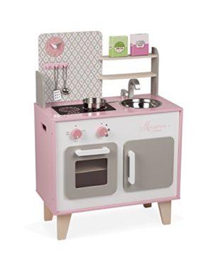 Janod Cucina Colore Bianco E Rosa J06567 0