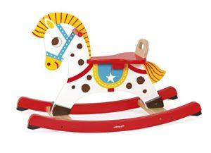 Janod J05981 Cavallo A Dondolo In Legno Punchy 0