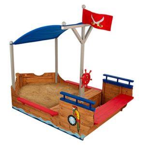 Kidkraft 128 Sabbiera Galeone Dei Pirati In Legno Per Bambini Per Giardino E Per Esterno 0