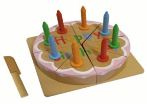 Kids Toy 108019 Legno Compleanno Torta 0