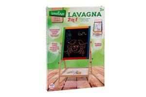 Legnoland Lavagna Legno 2 In 1 Altezza Regolabile Con Gessi 37326 0
