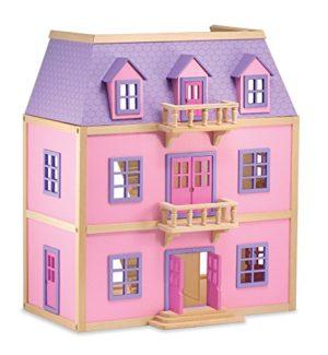 Melissa Doug 14570 Casa Per Bambole In Legno A Pi Piani 0 0