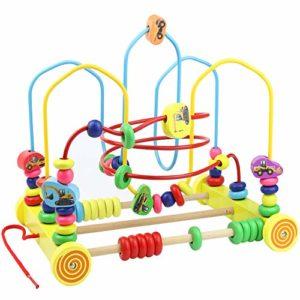 Nuheby Gioco Di Bead Maze Roller Coaster In Legno Labirinto Giochi Educativi Ragazza Ragazzo 3456 Anni Regalo 0
