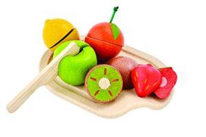 Plan Toys Assorted Fruit Set Colore Legno 3600 0