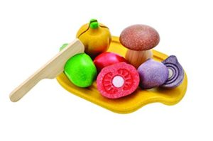 Plan Toys Assorted Vegetable Set Colore Legno 3601 0