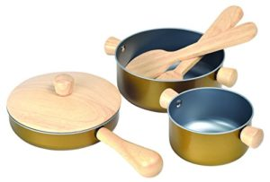 Plan Toys Cooking Utensils Colore Legno 3413 0