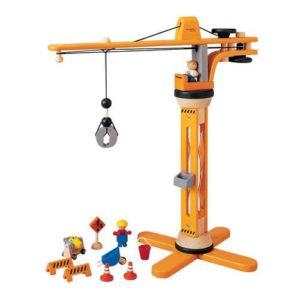 Plan Toys Crane Set Colore Legno 6086 0