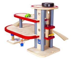 Plan Toys Parking Garage Colore Legno 6611 0
