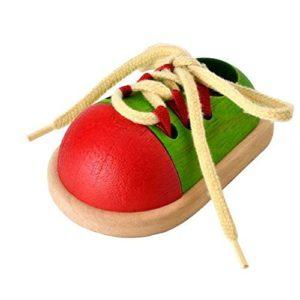 Plan Toys Tie Up Shoe Colore Legno 5319 0