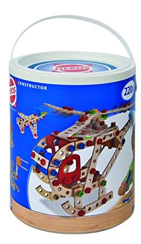 Simba Heros 100039040 Constructor Per Costruire 7 Modelli Di Veicoli 220 Pezzi 0