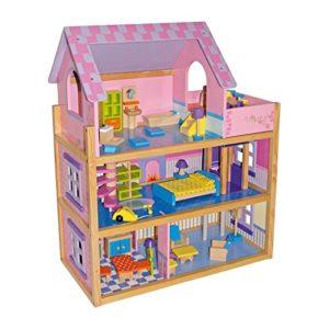 Small Foot Company Casa Delle Bambole Rosa 0