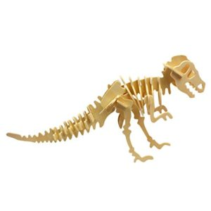 Andux 3d Dinosaur Puzzle T Rex Simulazione Di Legno Dinosaur Model Toy Per Bambini Klpt 01 0