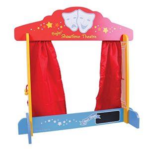 Bigjigs Toys Sipario Da Tavolo Per Marionette 0