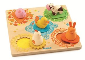 Djeco Duck And Friends Dj01030 Japan Import 0