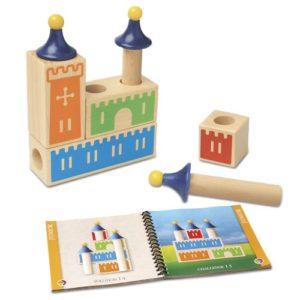 Giochi Intelligenti Castello Logix Gioco Di Puzzle In Legno Con Sfide Progressive Sg010 0