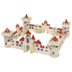 Goki Gioco Di Costruzione In Legno Castello 145 Pezzi 0