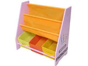 Kiddi Style Pastello Libreria Espositore Per Bambini In Legno 0