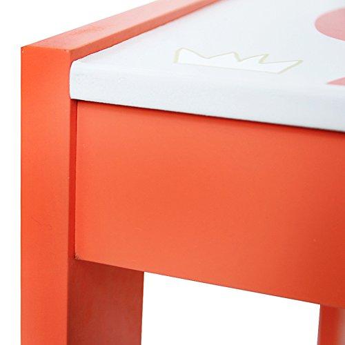Set tavolo e sedie con lavagna per pittura, lettura e gioco