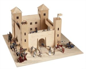 Pebaro 887 Castello Dei Cavalieri In Legno 0