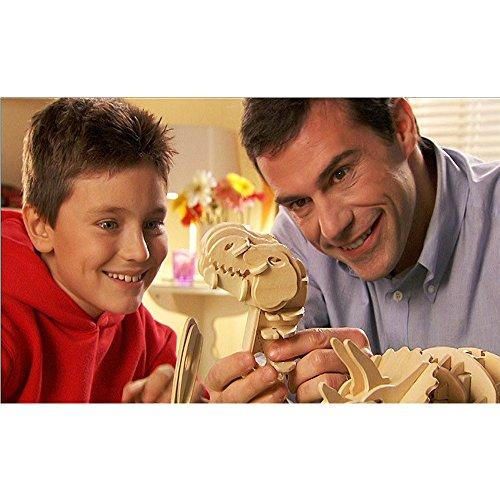 Robotime 3d De Puzzle En Bois Bois Craft Meilleur Anniversaire Puzzle Dinosaure Assembler Des Cadeaux De Nol Pour Les Enfants Walking T Rex 0 0