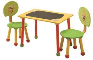 Roba 50811 Biene Maja Set Di Tavolino E Sedie Per Bambini Multicolore 0
